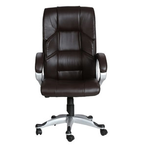 VJ Interior Mariposa Brown Color Executive Chair