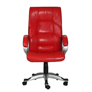VJ Interior Mariposa Red Color Executive Chair