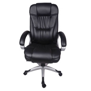 VJ Interior Quitar Black Color Executive Chair
