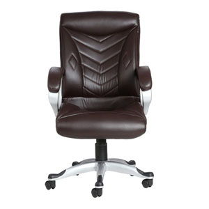 VJ Interior Estrella Brown Color Executive Chair