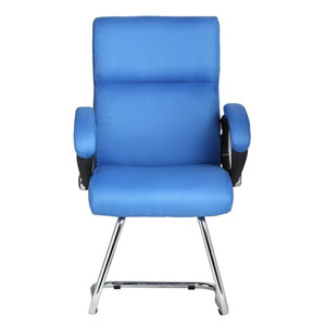 VJ Interior Claro Blue Color Visitor Chair