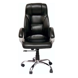 VJ Interior Executive Chair Black 21 x 21 x 30 Inch VJ-361