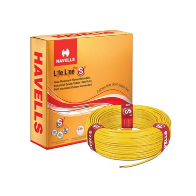 Havells Flexible Cables Lifeline Plus S3 HRFR 90m (6 mm)