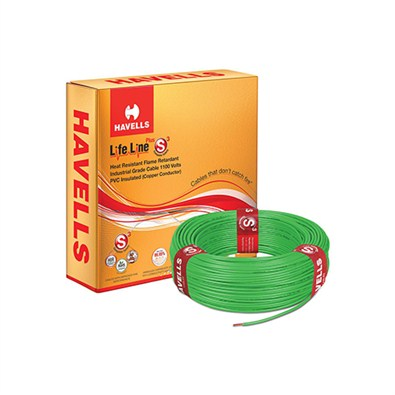 Havells Flexible Cables Lifeline Plus S3 HRFR  180m(4 mm)