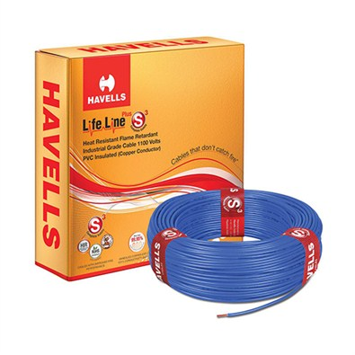 Havells Flexible cables Lifeline plus S3 HRFR  180m(6 mm)