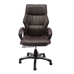 VJ Interior Executive Chair Brown 21 x 23 x 48 Inch VJ-225-EXECUTIVE-HB