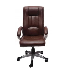 VJ Interior Executive Chair Brown 21 x 23 x 48 Inch VJ-233-EXECUTIVE-HB