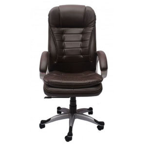 VJ Interior Executive Chair Brown 21 x 23 x 48 Inch VJ-245-EXECUTIVE-HB