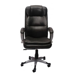 VJ Interior Executive Chair Black 21 x 23 x 48 Inch VJ-257-EXECUTIVE-HB