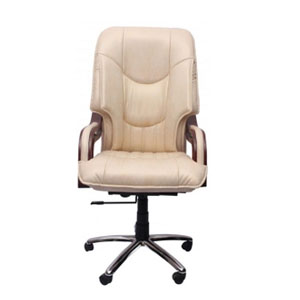 VJ Interior Executive Chair Ivory 21 x 23 x 48 Inch VJ-249-EXECUTIVE-HBW