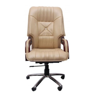 VJ Interior Executive Chair Ivory 21 x 23 x 48 Inch VJ-265-EXECUTIVE-HBW