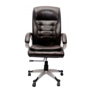 VJ Interior Executive Chair Black 21 x 23 x 49 Inch VJ-37-EXECUTIVE-HB