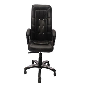 VJ Interior Visitor Chair Black 19 x 22 x 41 Inch VJ-81-EXECUTIVE-HB