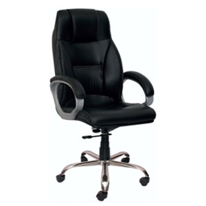 VJ Interior Executive Chair Black 21 x 21 x 30 Inch VJ-306