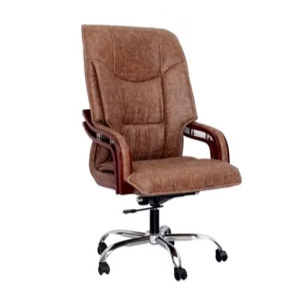 VJ Interior Executive Chair Brown 21 x 21 x 30 Inch VJ-310