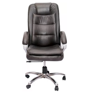 VJ Interior Executive Chair Black 21 x 21 x 30 Inch VJ-314