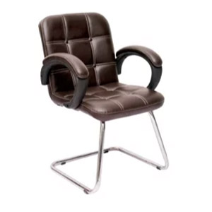 VJ Interior MB Visitor Chair Brown 19 x 20 x 20 Inch VJ-333