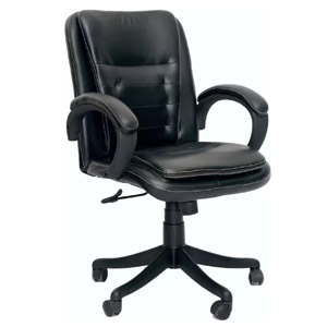 VJ Interior MB Visitor Chair Black 19 x 19 x 23 Inch VJ-353