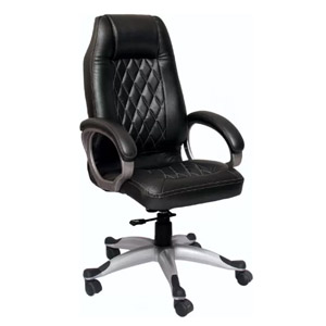 VJ Interior Executive Chair Black 21 x 21 x 30 Inch VJ-357