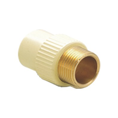 Kelachandra PVC Pipe Fittings RFTA(Brass) ( 25x20 3/4x1/2 mm)