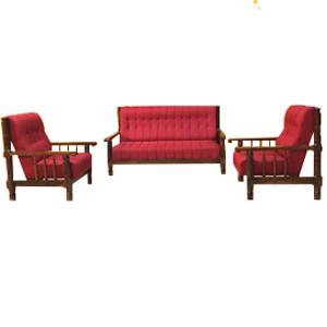 Wooden Sofa Classic