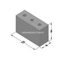 4 Inch Hollow Bricks Pipe Hole (16x8x4)