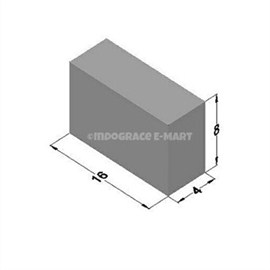 4 Inch Solid Bricks (16x8x4)