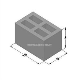 8 Inch Hollow Bricks (16x8x8)