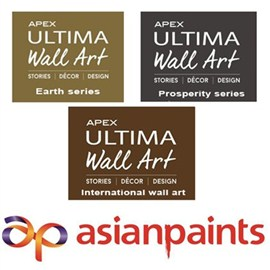 Asian Paints Exterior Ultima Wall Art