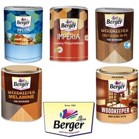 Berger Paints Wood Finishes (Clear Wood)