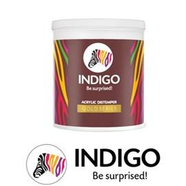 Indigo Paints Acrylic Distemper Gold Series