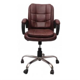 VJ Interior Visitor Chair Maroon 19 x 19 x 39 Inch VJ-137-VISITOR-MB