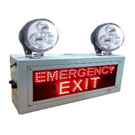 Industrial Emergency Light (LED) with Emergency EXIT