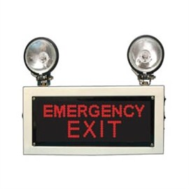 Industrial Emergency Light  with EMERGENCY EXIT