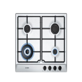 Bosch Stainless Steel Gas Hob With Integrated Controls(PCH615B8TI)