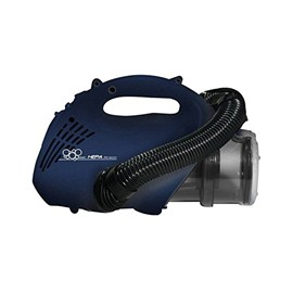 Eureka Forbes Euroclean Bravo Hand Held Vacuum Cleaner for Home & Office with HEPA Filteration, Blue & Silver
