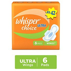 Whisper Choice Ultra 6 no's