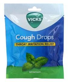 Vicks Cough Drop Bags Menthol
