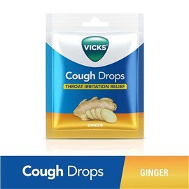 Vicks Cough Drop Bags Ginger