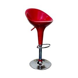 VJ Interior Fibre Bar Stool Red 19 x 21 x 39 Inch VJ-381