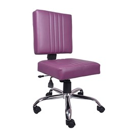 VJ Interior Morado Study And Task Chair Purple 19 x 20 x 21 Inch VJ-0175