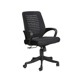 VJ Interior Costilla Black Color Task Chair VJ-406