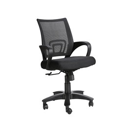 VJ Interior Sencillo Black Color Task Chair VJ-407