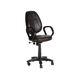 VJ Interior Galleta Brown Color Task Chair VJ-411