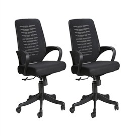 VJ Interior Costilla Task Chair Buy Two at Price of One VJ-406C