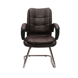 VJ Interior Visitor Chair Black 19 x 20 x 39 Inch VJ-273-VISITOR-LB