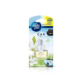 Ambi Pur Exotic Jasmine Car Air Freshener Refill 7.5 ml