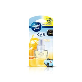 Ambi Pur Sweet Citrus and Zest Car Air Freshener Starter Kit 7.5 ml