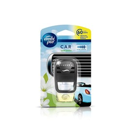 Ambi Pur Exotic Jasmine Car Air Freshener Starter Kit 7.5 ml
