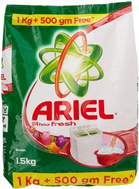 Ariel Complete Matic Detergent Powder- 1.5 Kg Pack